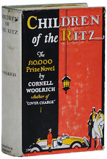 Cornell Woolrich-CHILDREN OF THE RITZ (1927)-1ST AUSTRALIAN ED, VG+ IN RARE DJ