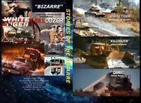 BIZARRE STORIES White Tiger, Killdozer, Duel, Final Countdown, Raise the Titanic