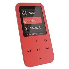 Reproductores de MP3 rojos Energy Sistem MP4