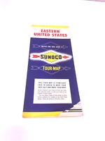 Vtg Sunoco Eastern US Vintage Road Map