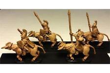 15mm Fantasy Legian Cavalry Spears & Shields Lightly Armored Bulls (16 figures)