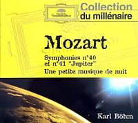 Karl Böhm / Mozart CD Symphonies n°40 et n°41 (Collection Du Millenaire) -