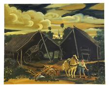 """Andre Derain """"Les deux hangars"""" lithograph"""