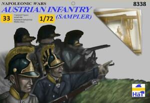 HaT 1/72 Napoleonic Austrian Infantry Sampler # 8338
