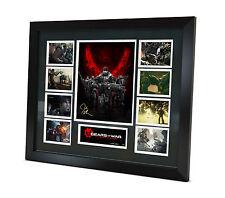 Gears of War Signed Photo - John DiMaggio - Marcus Fenix -Memorabilia - Framed