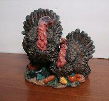 resin Thanksgiving TURKEY STATUE Figurine Decoration table decor