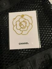 New CHANEL Camellia Parfume Bookmark Bookplate with Original Packing BN