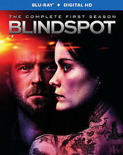 Blindspot: The Complete First Season (Blu-ray Disc, 4-Disc Set) BRAND NEW.