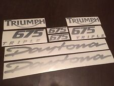 FOR Triumph Daytona 675 Triple 2008 full decals stickers graphics logo set kit