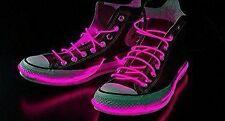 LED shoelaces or necklace, bracelet etc. 3 pak pink, white, yellow