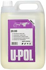U-Pol 2002 Water Based Degreaser Anti-static Panel Wipe, 5 Liter
