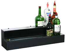 """Glastender 2 Tier Lighted Liquor Display 42"""" with Cord on Right"""