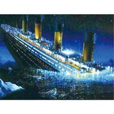 Titanic Full Drill DIY 5D Diamond Painting Home Decors Embroidery Kits Art