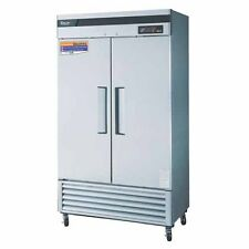 Turbo Air Tsr-35Sd-N 2 Solid Doors Reach-In Refrigerator, Bottom Mount
