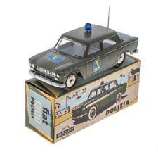 Fiat 1300 Polizia - 1/48 Mercury Hachette Voiture miniature MY013
