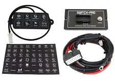 Switch-Pros 8 Switch 8100 User-Programmable Panel Power System for Jeep & Other