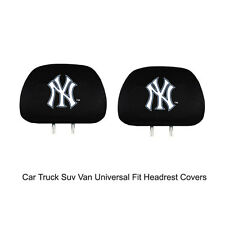 New Team ProMark MLB New York Yankees Head Rest Covers For Car Truck Suv Van