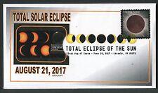 5211 * TOTAL SOLAR ECLIPSE * DIGITAL COLOR POSTMARK * VAR. 2 *