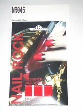 NAIL ROCK Designer Nail Wraps - NR046 - Metallic Moon - Made in UK - NEW