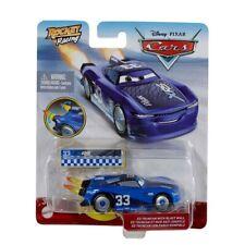 Disney Pixar Cars - Rocket Racing Ed Truncan With Blast Wall
