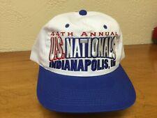 Embroidered NHRA Wiinston Drag Racing U.S. Nationals Hat 1998 Kudzu Mint