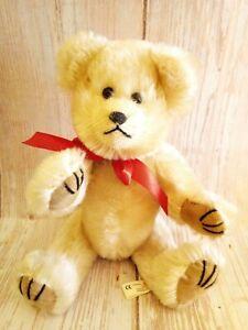 "Vintage Windel Germany Mohair Full Jointed Teddy Bear 10"""