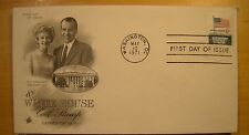 U S Stamp First Day Cover FDC May 10 1971 White House Nixon Art Craft Coil