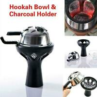Frosted Hookah Charcoal Heat Shisha Sheesha Chicha Narghile Bowl Accessories