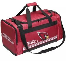 NFL Arizona Cardinals Gym Travel Luggage Striped Core Duffle Bag