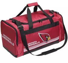 NFL Arizona Cardinals Gym Travel Luggage Striped Core Duffle Bag