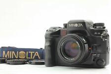 [MINT+++ w/ Data Back] Minolta α-9 Alpha a-9 Camera Body AF 50mm F1.4 Lens Japan