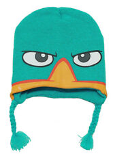 PHINEAS AND FERB Perry The Platypus Laplander Knit Hat