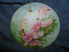 """Anna Perenna """"June Dream"""" by C. Burgues 1st  of 4 Enchanted Gardens Plates 1978"""
