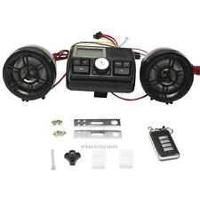 Audio FM Radio MP3 iPod Stereo Speakers Sound System Motorcycle Bike ATV UTV Kit