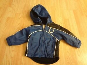 Infant/Baby Indianapolis Colts 12 Mo Hooded Coat NFL