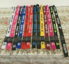 Adidas Lanyards Detachable Keychain ID Badge Phone Holder 12 Colors Available
