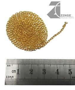 Zinge Industries - Metal Chain: 1 metre length with 2.5mm by 3mm links A-MCL04