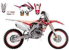Kit Deco Replica 2014 Blackbird Honda Muscle Milk CRF450R de 2009 2010 2011 2012