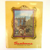 "Vintage Sanborn's 13"" Mexican Restaurant Menu - Mexico"