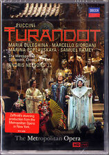 DVD PUCCINI: TURANDOT Maria Guleghina Marcello Giordani Ramey Andris Nelsons MET