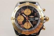 Breitling Chronomat Automatik Chronometer Rosè-Gold mit original Edel-Stahlband