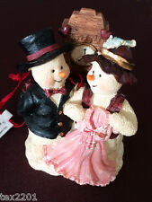 Lot of (72) New TJ's Christmas Cherish the Memories Snowmen Couple Ornaments