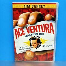 Ace Ventura When Nature Calls on DVD Slim Case Jim Carrey