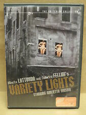 Variety Lights (DVD, 2000, Criterion Collection) - OOP - Fellini