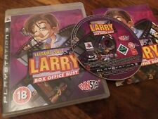 Leisure Suit Larry Box Office Bust - Rare UK Sony PS3 Game + Instructions Mint