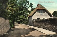 College Lane - CHICHESTER - Sussex Street View Original Postcard (SUS96)