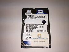 "Western Digital WD1600BEVT-00A23T0 160GB SATA 5400RPM 2.5"" HDD TESTED!"