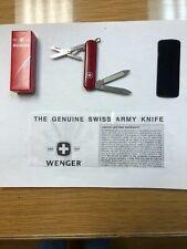 New Wenger Esquire pocket Knife