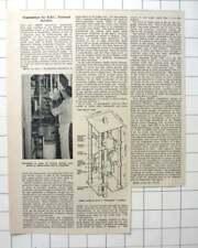 1961 New Transmitters For Bbc External Services, Rampisham Dorset, Described