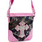 Mossy Oak ®Women Handbag Faux Leather shoulder Bag Crossbody Message Bag Purse